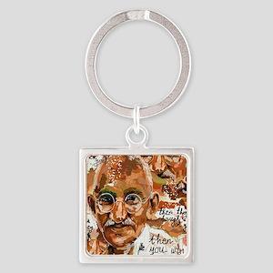 Gandhi wins Square Keychain