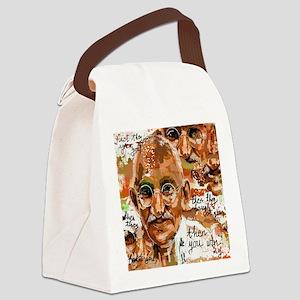 Gandhi wins Canvas Lunch Bag
