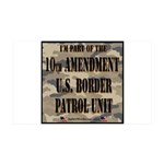 "10thpatrol 35x21"" 35x21 Wall Decal"
