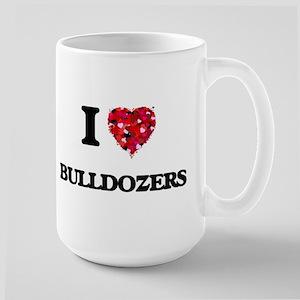 I love Bulldozers Mugs