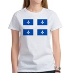 Official Flag with PMS 293 Co Women's T-Shirt