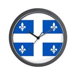 Official Flag with PMS 293 Co Wall Clock