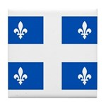 Official Flag with PMS 293 Co Tile Coaster