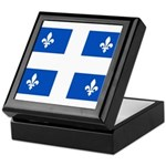 Official Flag with PMS 293 Co Keepsake Box