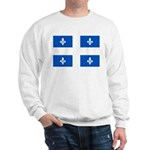 Official Flag with PMS 293 Co Sweatshirt