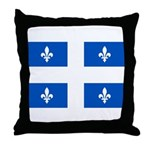 Official Flag with PMS 293 Co Throw Pillow