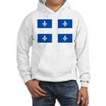 Official Flag with PMS 293 Co Hooded Sweatshirt