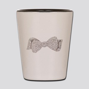 Diamond_Bow Shot Glass