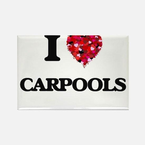 I love Carpools Magnets