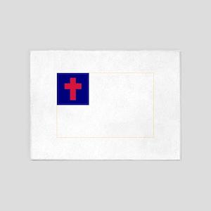 Christian_flag 5'x7'Area Rug