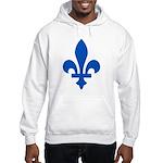 Lys Flower PMS 293 Color Hooded Sweatshirt