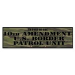 10thamendpatrol Bumper Sticker