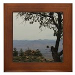 Hualapai Mountain View Framed Tile