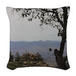Hualapai Mountain View Woven Throw Pillow