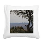 Hualapai Mountain View Square Canvas Pillow