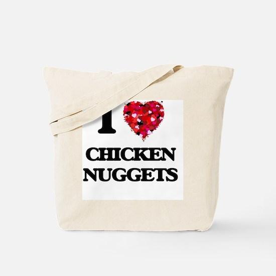 I love Chicken Nuggets Tote Bag