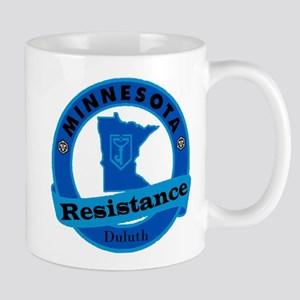 Duluth Minnesota Resistance Mugs