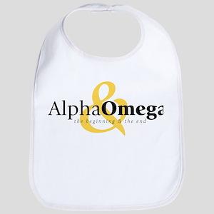 Alpha and Omega Bib