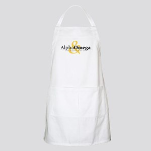 Alpha and Omega BBQ Apron