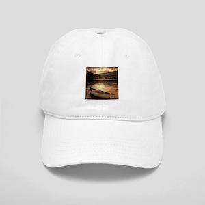 rustic country lake canoe Cap