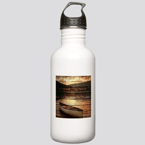 rustic country lake ca Stainless Water Bottle 1.0L
