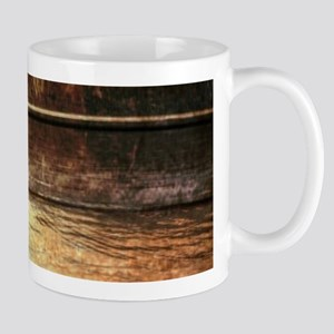 rustic country lake canoe Mugs