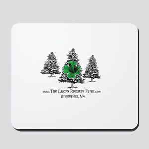 The Lucky Rooster Farm Mousepad