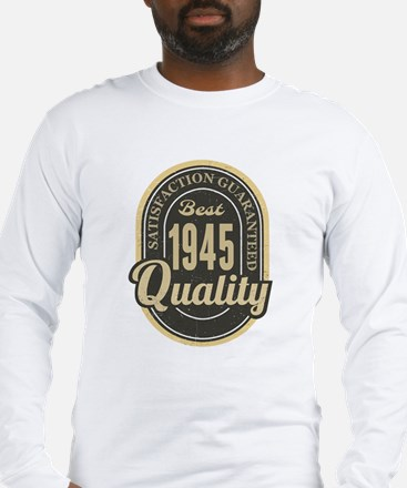 Satisfaction Guaranteed Best 1945 Quality Long Sle
