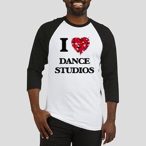 I love Dance Studios Baseball Jersey