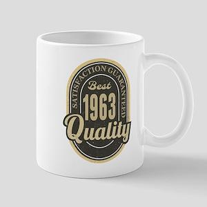 Satisfaction Guaranteed Best 1963 Quality Mugs