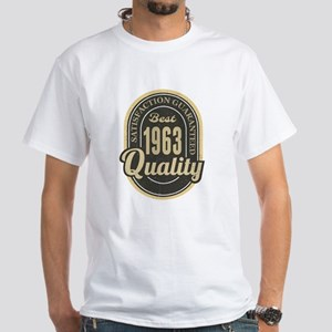 Satisfaction Guaranteed Best 1963 Quality T-Shirt