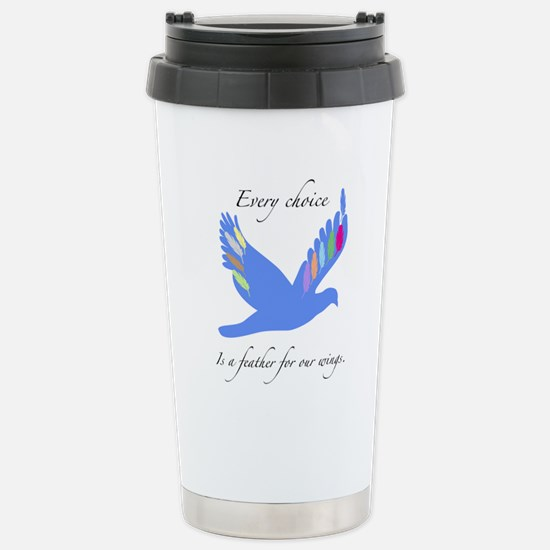 Feathers For Wings Gifts Travel Mug