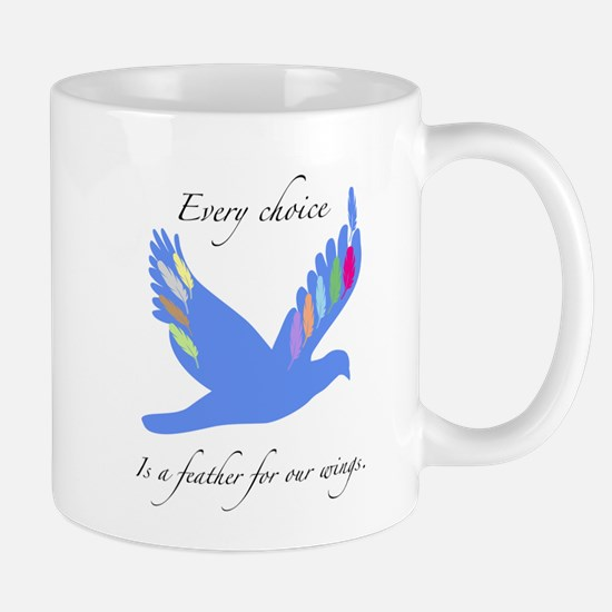 Feathers For Wings Gifts Mugs
