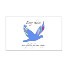 Feathers For Wings Gifts Wall Decal