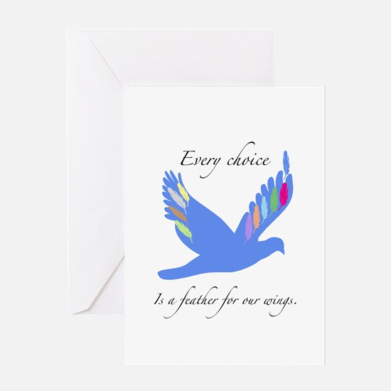 Feathers For Wings Gifts Greeting Cards