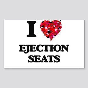 I love Ejection Seats Sticker