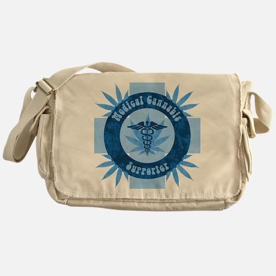 Medical Cannabis Supporter Messenger Bag