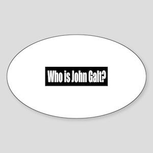 Who is John Galt? Sticker