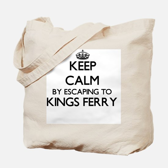 Keep calm by escaping to Kings Ferry Geor Tote Bag