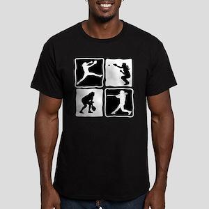 TEAM Men's Fitted T-Shirt (dark)