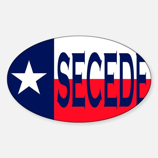 Texas Secceed Decal