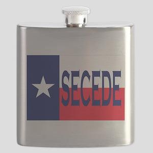 Texas Secceed Flask