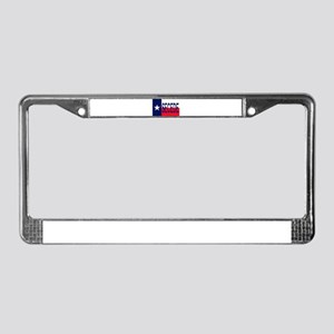 Texas Secceed License Plate Frame
