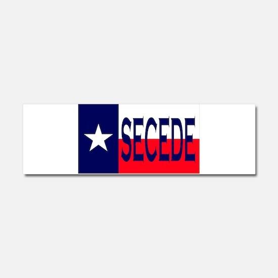 Texas Secceed Car Magnet 10 x 3