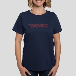 dm of domain Women's Dark T-Shirt