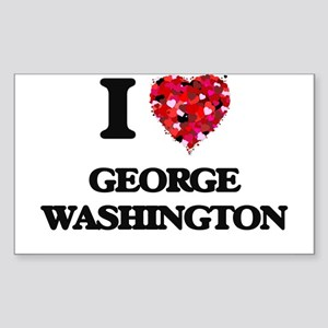 I love George Washington Sticker