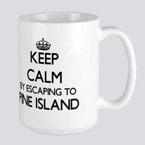 Keep calm by escaping to Pine Island Florida Mugs
