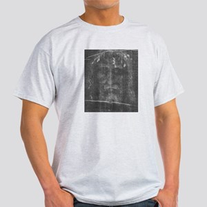 Shroud of Turin - Face of Jes Light T-Shirt