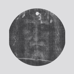 Shroud of Turin - Face of Jes Ornament (Round)