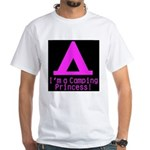 Camping Princess White T-Shirt